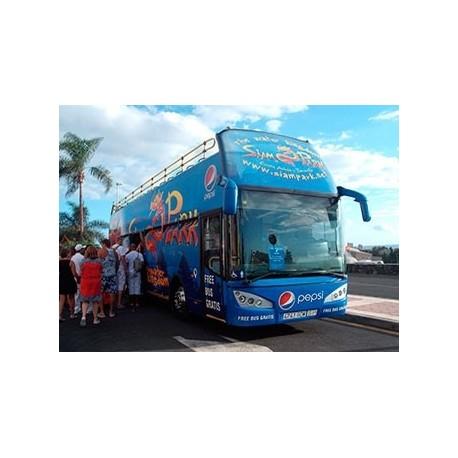 Bus desde el norte para Siam Park