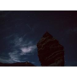 Teide atardecer y estrellas