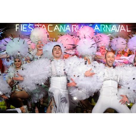 Fiesta Canaria Carnaval + BUS